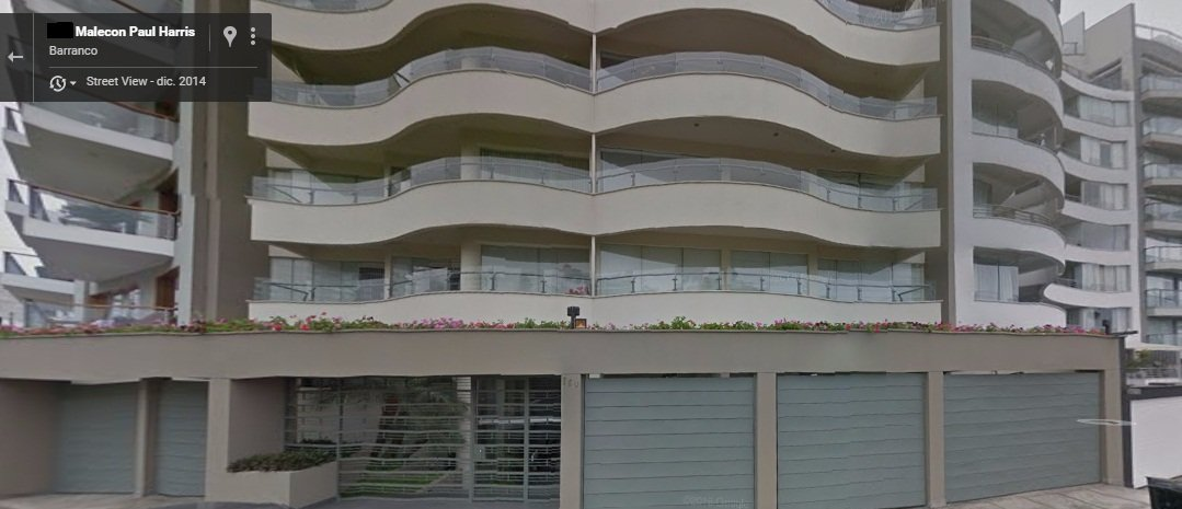 APARTMENT FOR SALE OR RENT WITH  BEACH VIEW - BARRANCO